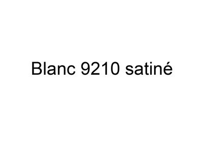 COLORIS BLANC SATINE 9210