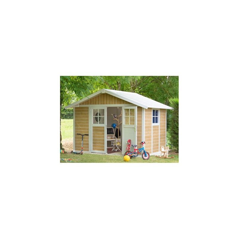 abri jardin pvc grosfillex 7 m2 sherwood. Black Bedroom Furniture Sets. Home Design Ideas