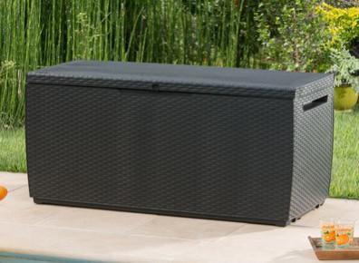 coffre de rangement en resine 123 x 535 cm - Coffre De Rangement Exterieur