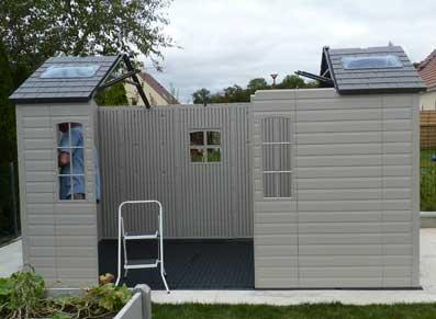 Chalet de jardin en pvc meilleures id es cr atives pour la conception de la maison for Abri de jardin en pvc