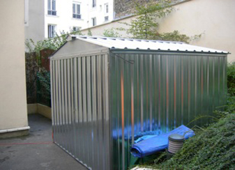 Abri de chantier mobile abris de chantier wc de chantier - Chauffer un garage non isole ...