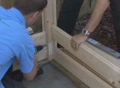Montage d\'un abri de jardin bois, les étapes – Blog : conseil abri ...