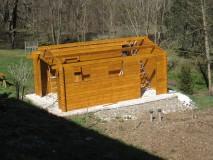 Maison en bois madrier