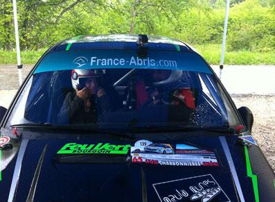 Vis ma vie de co-pilote de rallye !