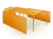 le hangar m tallique la solution id ale pour des usages professionnels et de loisirs blog. Black Bedroom Furniture Sets. Home Design Ideas