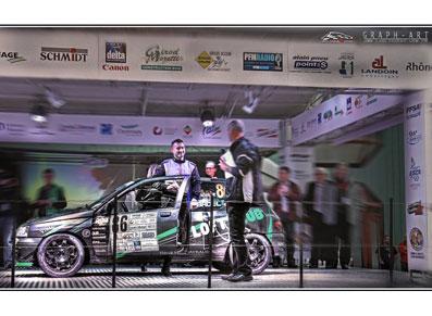 Equipage Badel, un titre de Champion de France des rallyes pour finir en beauté !