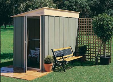 l abri de jardin adossable la solution gain de place. Black Bedroom Furniture Sets. Home Design Ideas