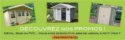promotion des abris de jardin pas cher