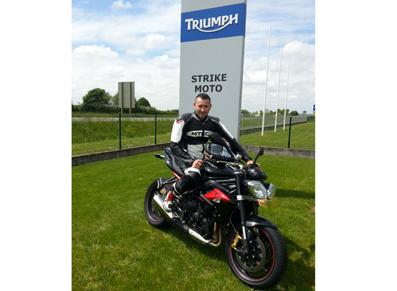 Thomas Badel se lance en rallye moto