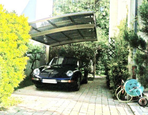 Carport voiture de collection