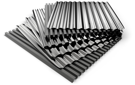 Abri métal en acier galvanisé
