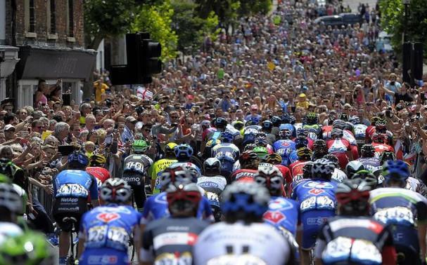 Tour de France marée humaine