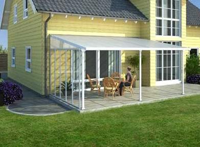 Panneau lateral toit terrasse alu