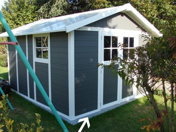 garantissez l tanch it de votre abri de jardin avec le joint en silicone. Black Bedroom Furniture Sets. Home Design Ideas