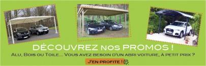 promotion des abris voitures carport pas cher