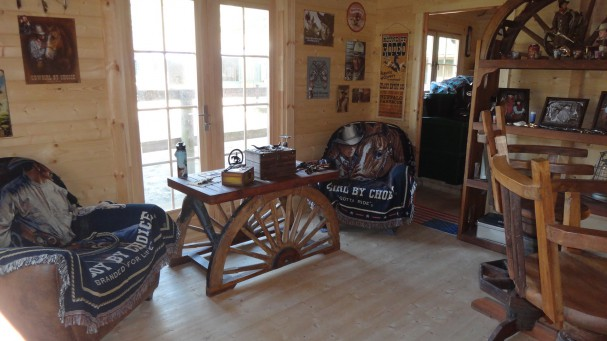 D co chambre ranch for Chambre western