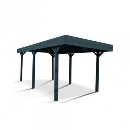 inspiration ext rieure avec le carport 2 pieds au toit transparent fum blog france abris. Black Bedroom Furniture Sets. Home Design Ideas