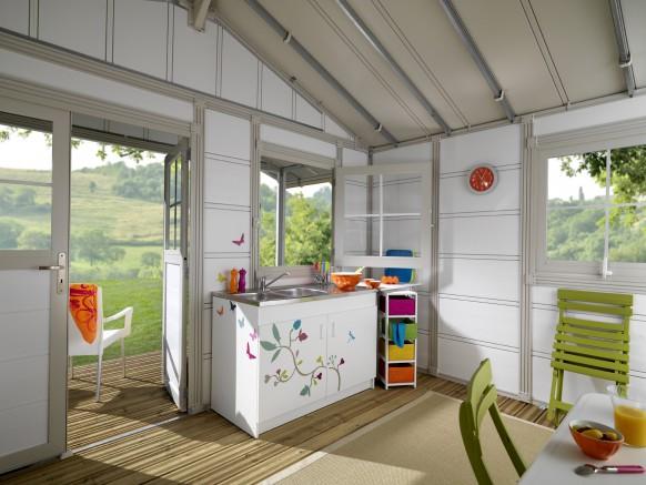immersion dans un chalet de jardin grosfillex blog conseil abri jardin garage carport bons. Black Bedroom Furniture Sets. Home Design Ideas