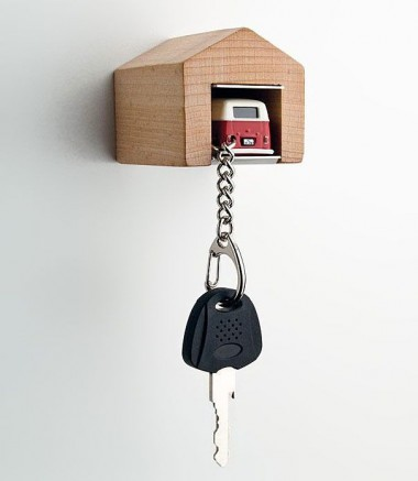 Porte-clés van