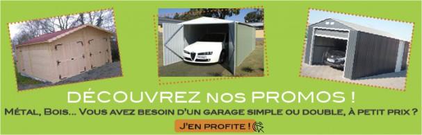 promotion des garages à monter pas cher
