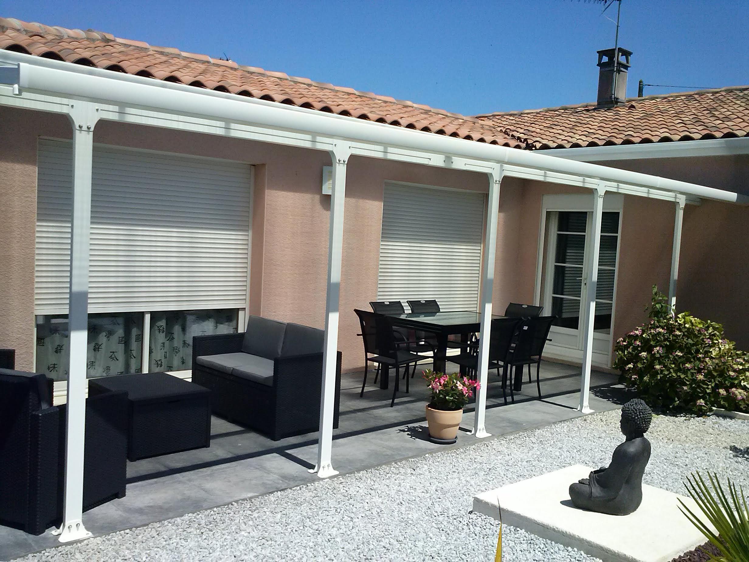 L aluminium la solution parfaite pour les toits terrasses for Comabri terrasse alu polycarbonate