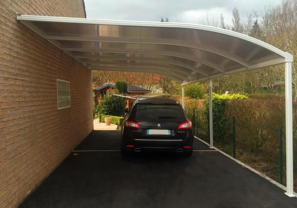 A la d couverte de la gamme sib des abris et toits terrasse design - Abri terrasse alu polycarbonate ...