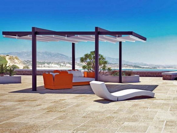 pergola contemporaine design aluminium blog conseil abri jardin garage carport bons plans. Black Bedroom Furniture Sets. Home Design Ideas