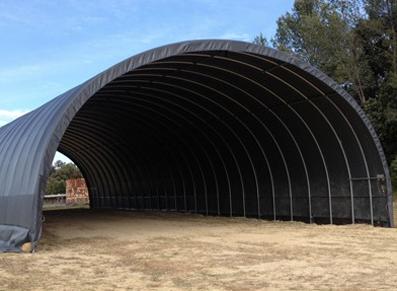 Professionnels et collectivités : nos solutions de tunnels de stockage