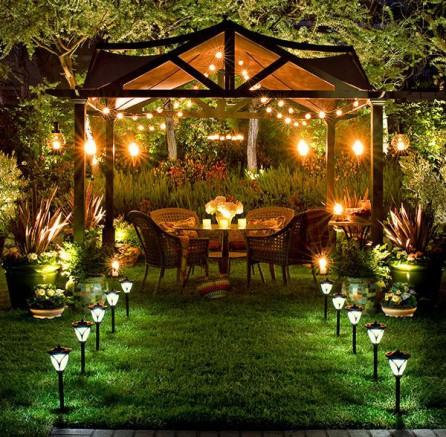 Comment éclairer l\'intérieur de son abri de jardin ?