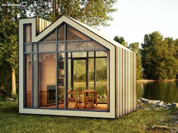Exit le classique place aux abris de jardin atypiques for Prix chalet de jardin