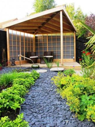 Comment mettre en place une all e de gravillons dans son jardin for Installer gravier jardin
