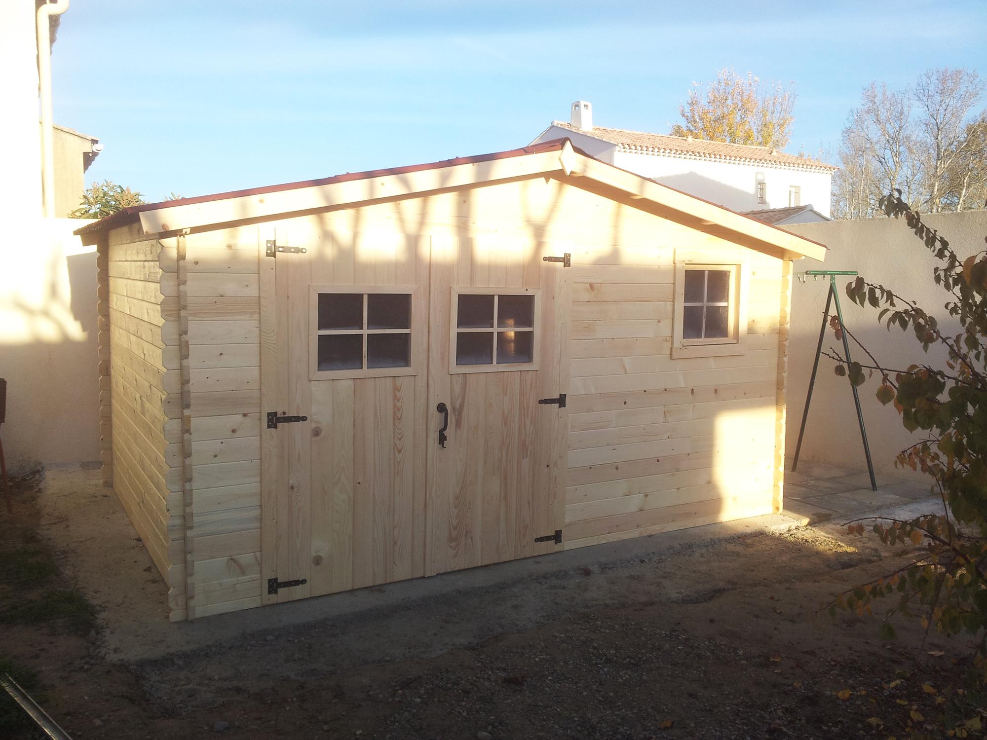 Un Abri Bois Am Nager Sans Effort Blog Conseil Abri Jardin Garage Carport Bons Plans