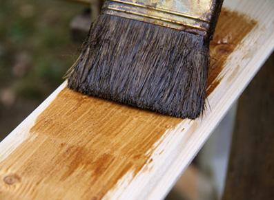 appliquer une lasure sur du bois non traité