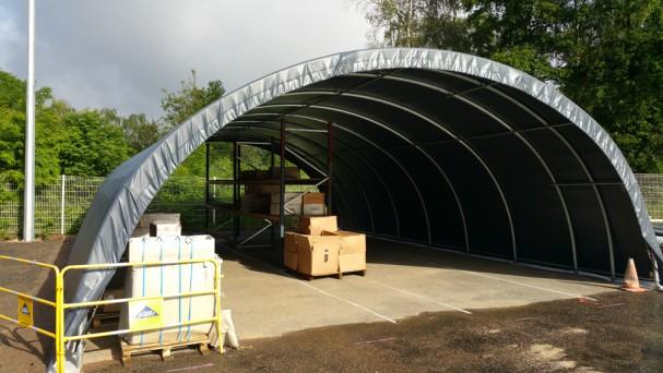 les tunnels de stockages sont utiles pour protéger de grands outils