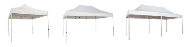 différentes dimensions de tentes pliantes pour les évènements