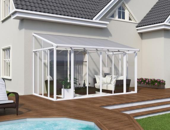 Une Veranda Moderne Pour Profiter De Son Jardin Tout Au Long
