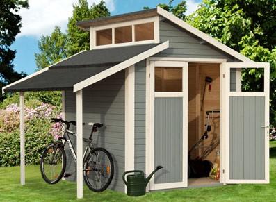 Des abris de jardin PVC, métal ou bois au style imbattable : rangez vos affaires en toute simplicité !