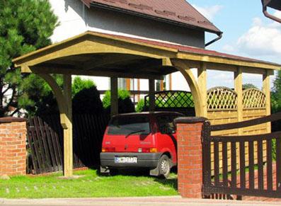 Un carport bois nordique et traité autoclave