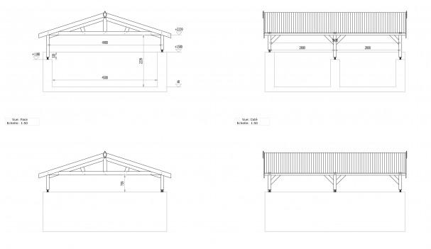 Schéma du carport