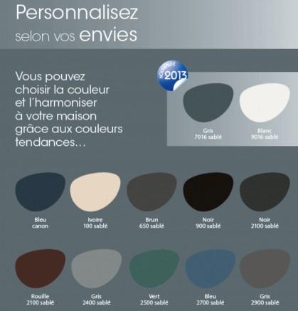 Des choix de couleurs multiples pour les abris voiture métal et polycarbonate