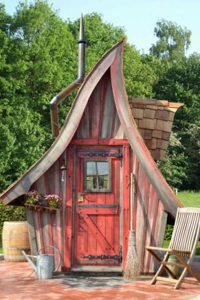 Top  Des Abris Et Cabanes De Jardin Les Plus tonnants   Blog