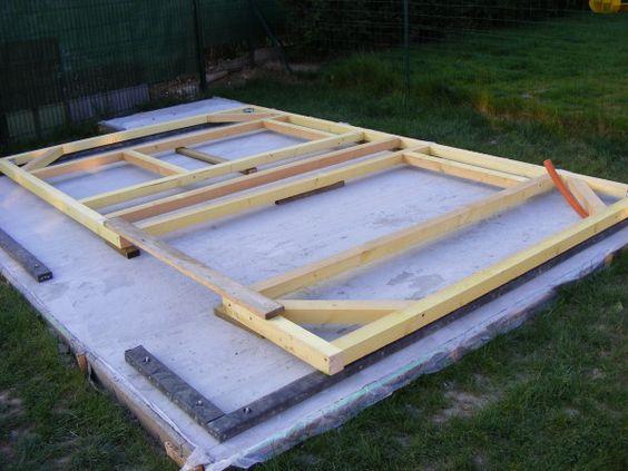Installez votre garage ou abri jardin en PVC sur une dalle béton