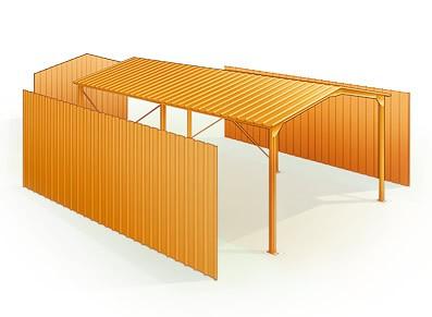 Garage pro pour camionnettes et véhicules utilitaires