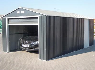 La sécurité d'un garage en acier avec porte sectionnelle