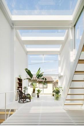 Puit de lumière skylight dans une maison