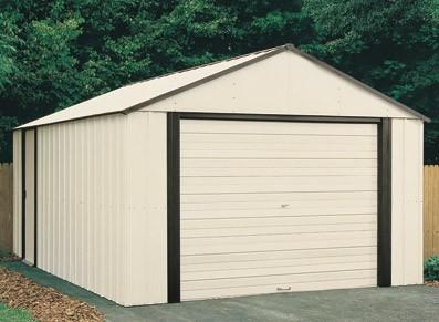 Abri garage métal verrouillable et sécurisé