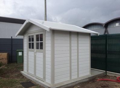 Abri de jardin et cabane d'entrepôt pour les pros en PVC