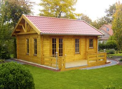 Chalet ou abri de jardin bois pour accueil de camping