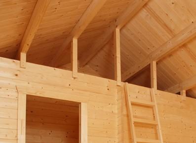 Le chalet bois idéal pour être aménagé à l'intérieur