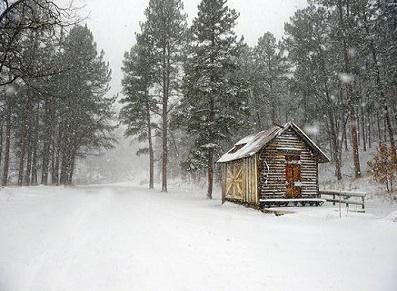 Les abris de jardin de moyenne montagne : le bois, une vraie solution ? (crédit photo : Pinterest/landscapephotography.info)